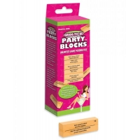 Bride To Be Party Blocks Game Travel Size