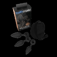 Bathmate Anal Training Plugs Black