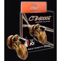 Chastity Device Camo 2.5 inches