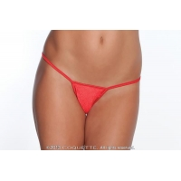 G-String Panty Red O/S
