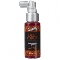 Goodhead Deep Throat Spray Cinnamon 2oz