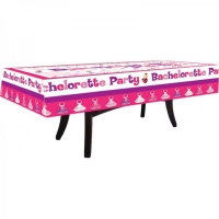Bachelorette Party Tablecloth Trivia with 4 Markers