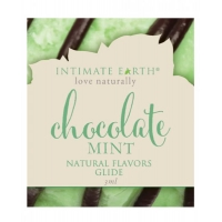 Intimate Earth Chocolate Mint Glide Foil Pack .1oz