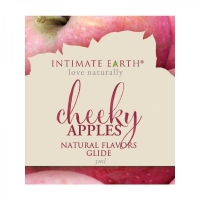 Intimate Earth Cheeky Apples Glide Foil Pack .1oz