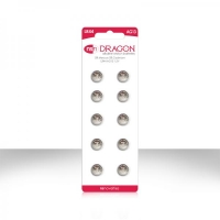 Dragon Alkaline Batteries Size LR44/AG13 10 Pack