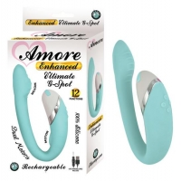 Amore Enhanced Ultimate G-Spot Aqua Blue Vibrator