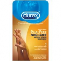 Durex Avanti Bare Real Feel Non Latex Condoms 3pk