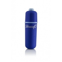 3-N-1 Soft Touch Bullet Vibrator Blue