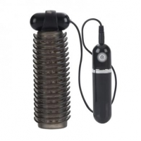 10-Function Vibrating Strokers-Black