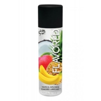 Wet Flavored Lubricant Tropical Explosion 3oz