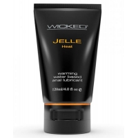 Wicked Jelle Heat Warming Anal Lubricant 4oz